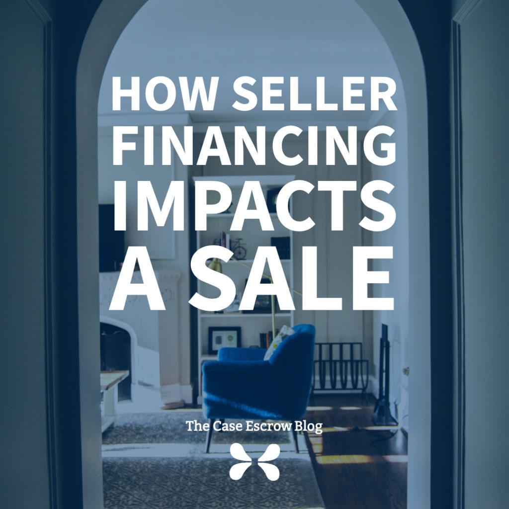 how seller financing impacts a sale image